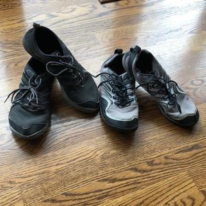 Two pairs of Merrell ultra light weight sneakers